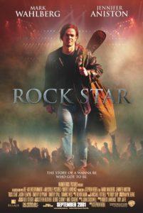 Poster vom Film Rock Star mit Mark Wahlberg