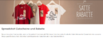 spreadshirt.de - individuelle T-Shirts selbst gestalten