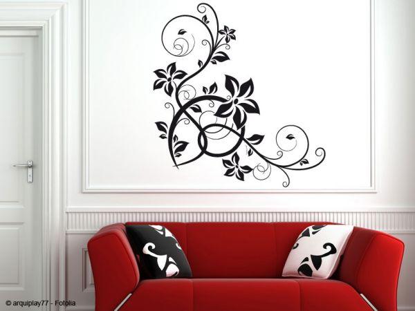 anleitung zur m helosen montage eines wandtattoos. Black Bedroom Furniture Sets. Home Design Ideas