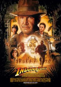 Filmposter von - Indiana Jones und das Königreich des Kristallschädels