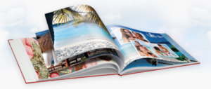 Bild von einem Fotobuch