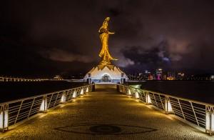 Estatua de Guan Yin Macao
