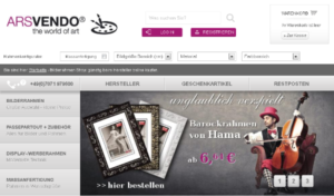 Bild vom Online-Shop arsvendo.de