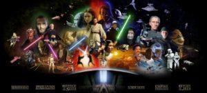 "Star Wars Poster ""alle Charakter"""