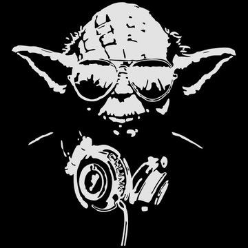 Wandtattoo Yoda
