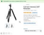 Testbericht zum Cullmann Nanomax 430T Reisestativ