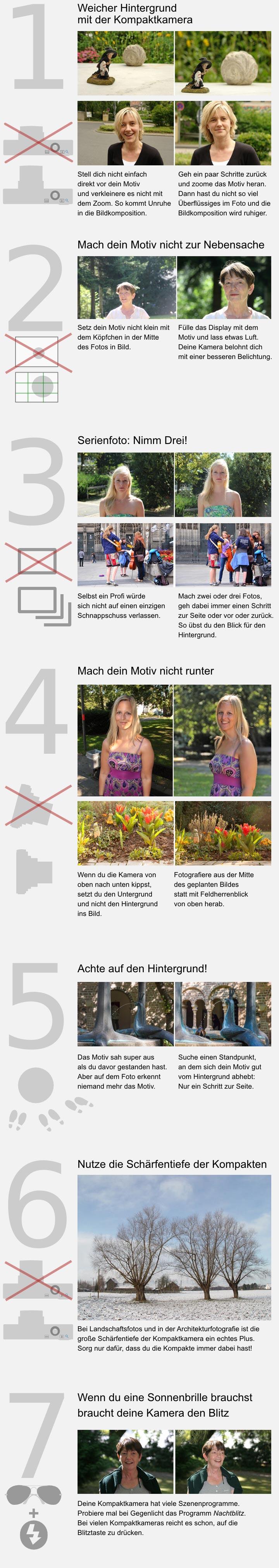 7 Tipps für die Kompaktkamera
